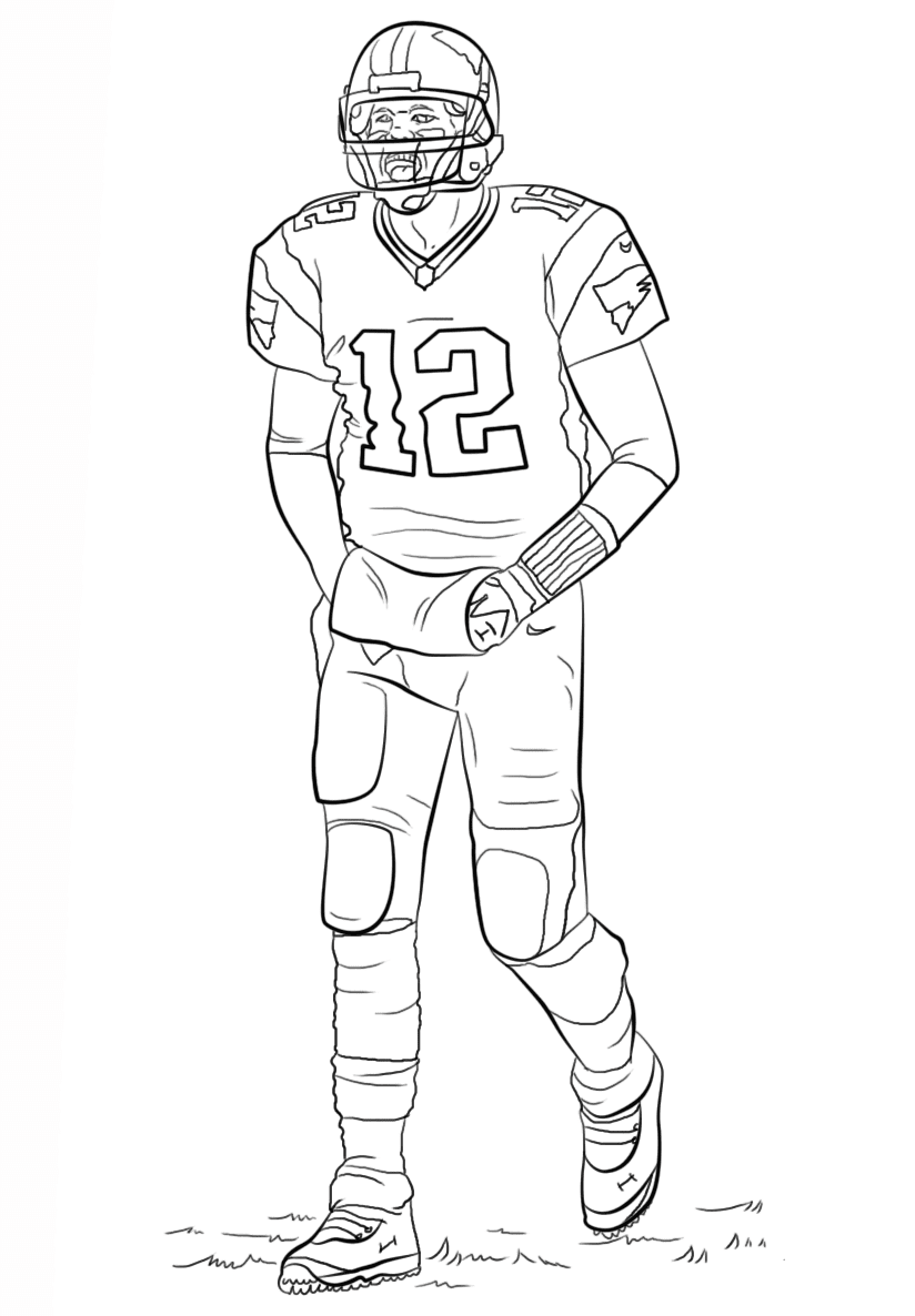 football player coloring pictures football coloring pages kids should have five facts pictures coloring football player