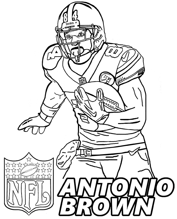 football player coloring pictures soulmetalpodcast footbal playersl coloring pages pictures football coloring player
