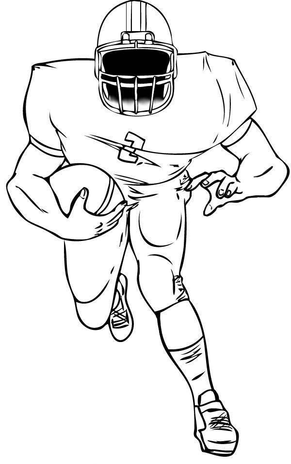 football player coloring sheet football player coloring pages to download and print for free player football coloring sheet