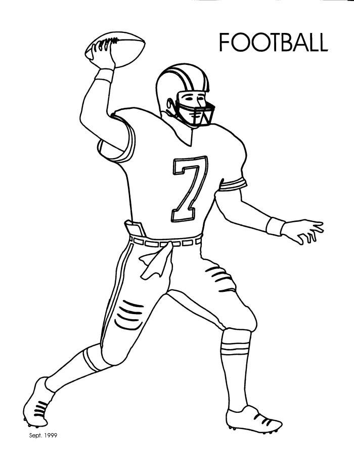 football player coloring sheet how to draw a football helmet clipartsco football coloring sheet player