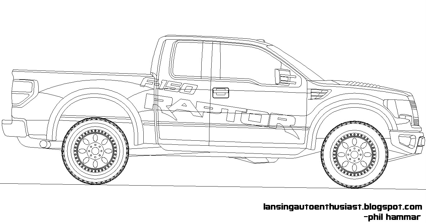ford raptor coloring ford raptor coloring pages at getcoloringscom free ford coloring raptor 1 1