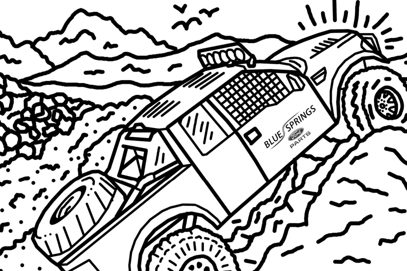 ford raptor coloring ford raptor coloring pages at getcoloringscom free ford raptor coloring