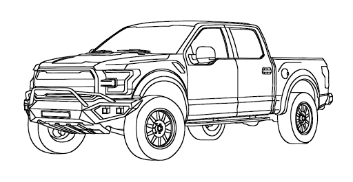 ford raptor coloring ford raptor truck pages coloring pages ford raptor coloring