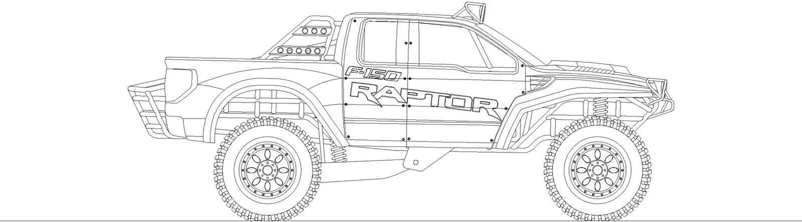 ford raptor coloring quad coloring pages at getcoloringscom free printable raptor ford coloring