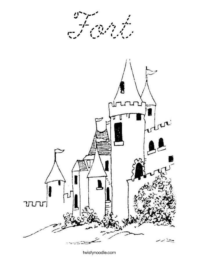 fort coloring pages fort coloring page free others coloring pages pages coloring fort