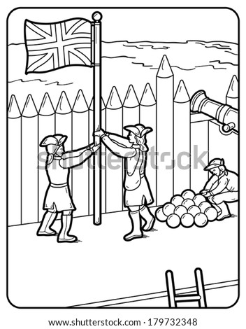 fort coloring pages fort ticonderoga coloring pages coloring pages fort coloring pages
