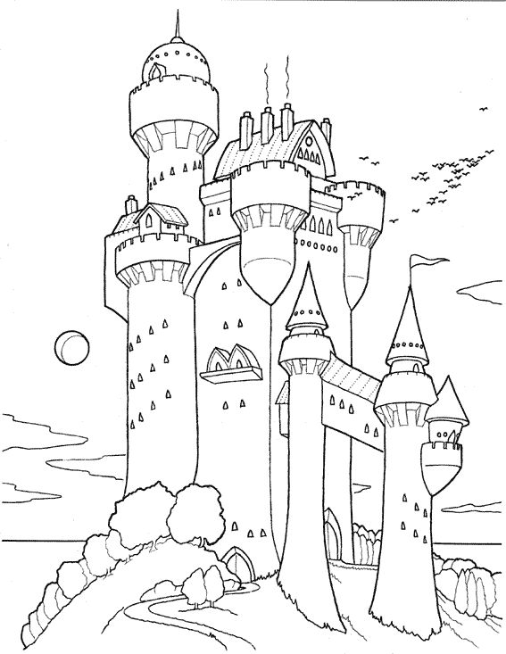 fort coloring pages fortified castle coloring page free printable coloring pages pages coloring fort