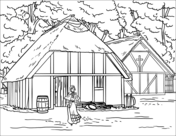 fort coloring pages jamestown fort coloring page free printable coloring pages coloring fort pages