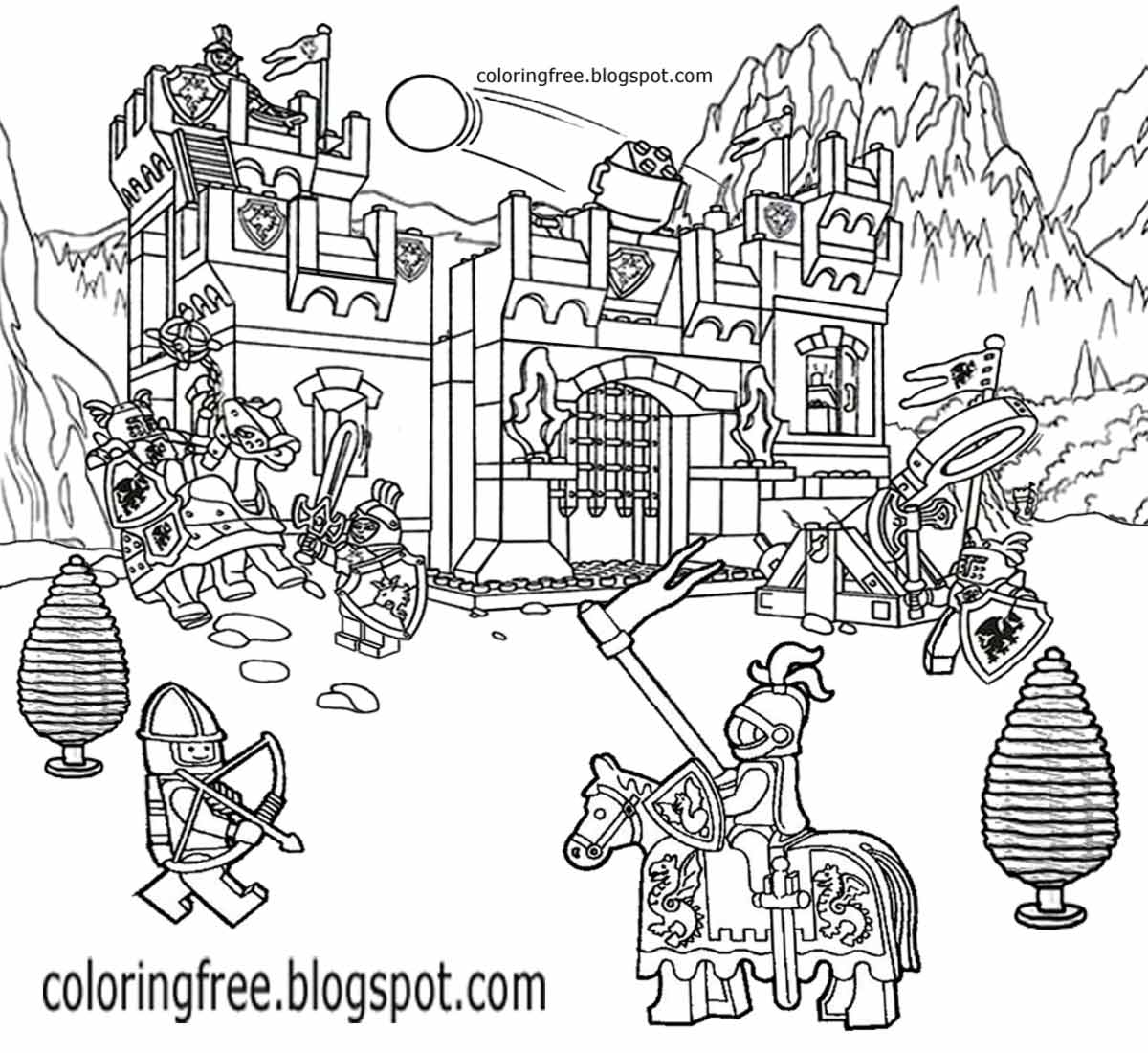 fort coloring pages printable lego city coloring pages for kids clipart coloring pages fort