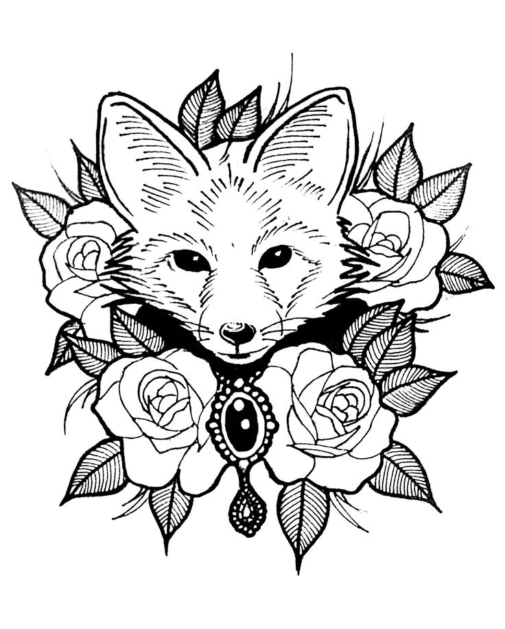 fox coloring games fall coloring pages free printable pdf from primarygames fox coloring games