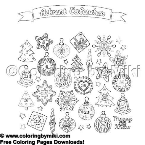 free advent calendar coloring pages coloring pages advent calendar coloring home advent coloring calendar free pages