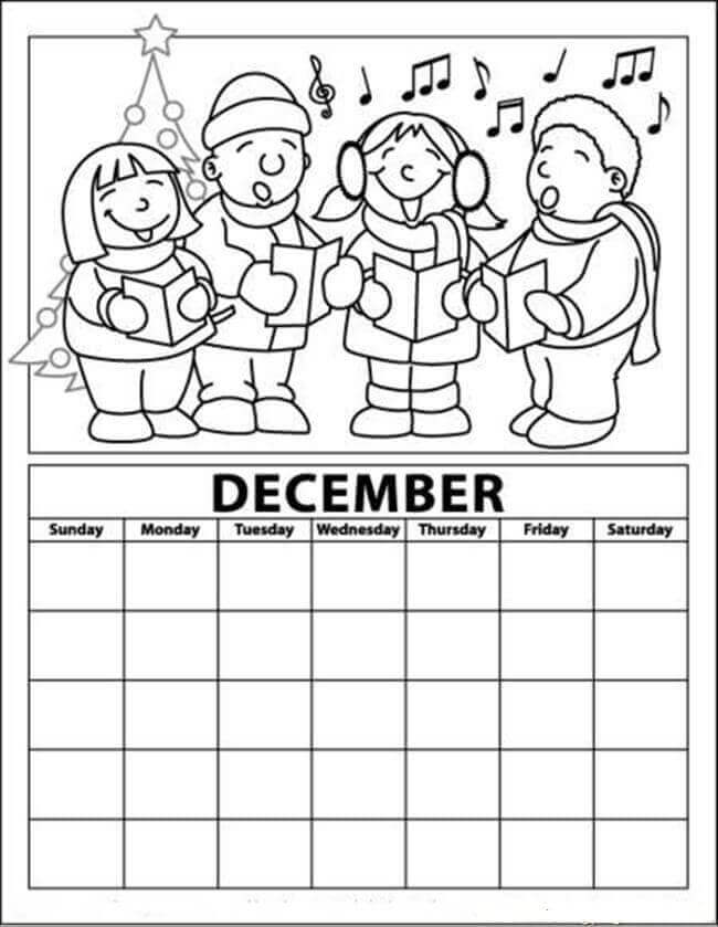 free advent calendar coloring pages printable advent calendar coloring page christmas free pages coloring advent calendar