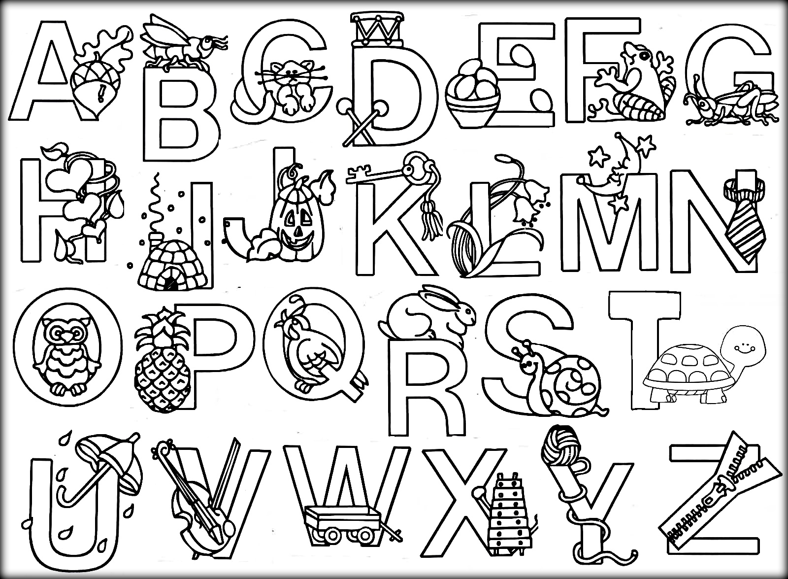 free alphabet coloring pages free printable alphabet coloring pages for kids best pages free coloring alphabet