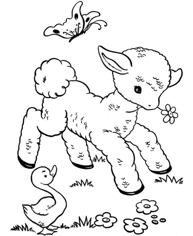 free animal coloring pages for kids get this free printable farm animal coloring pages for free kids animal coloring for pages