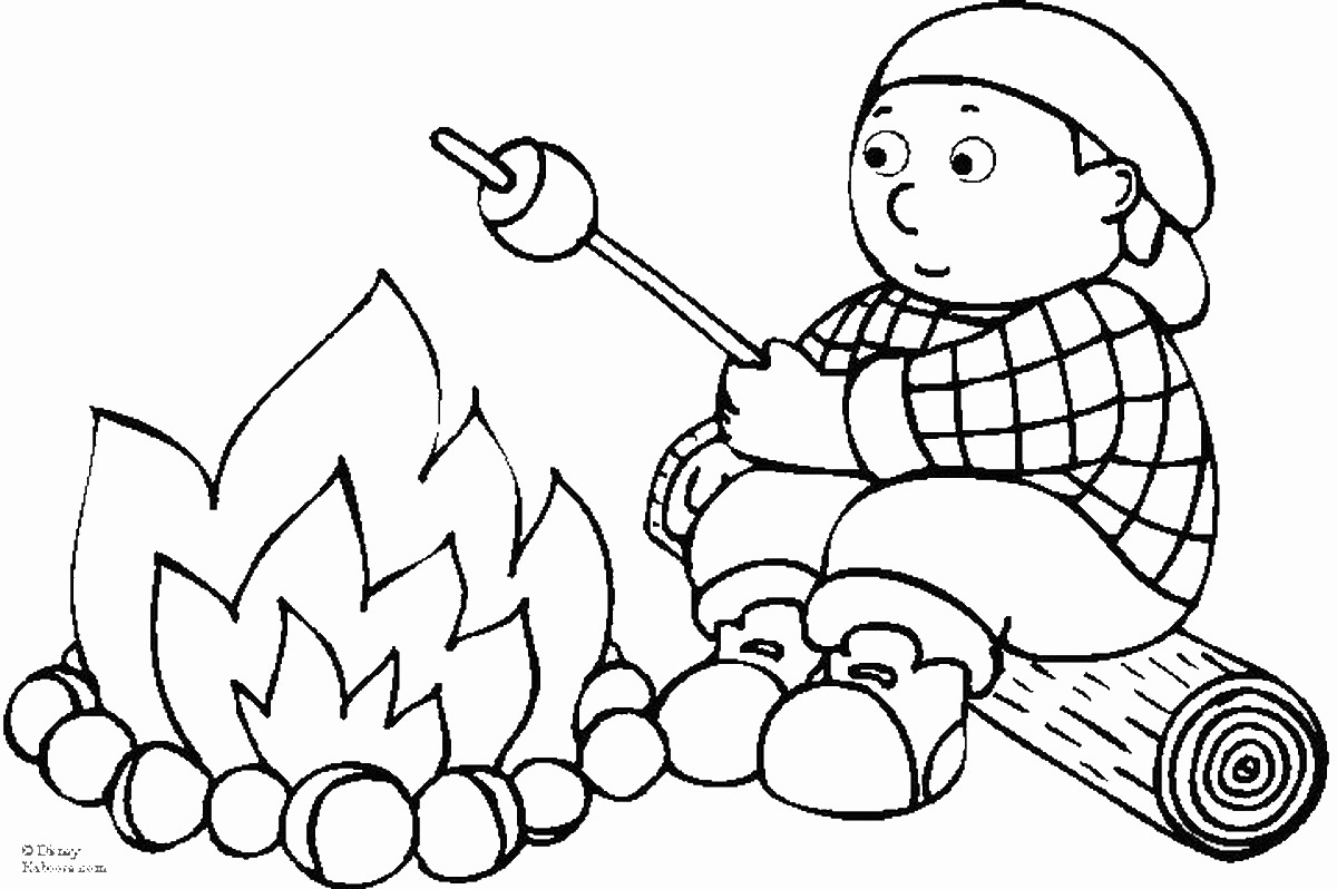 free camping coloring pages camping coloring pages free camping coloring pages