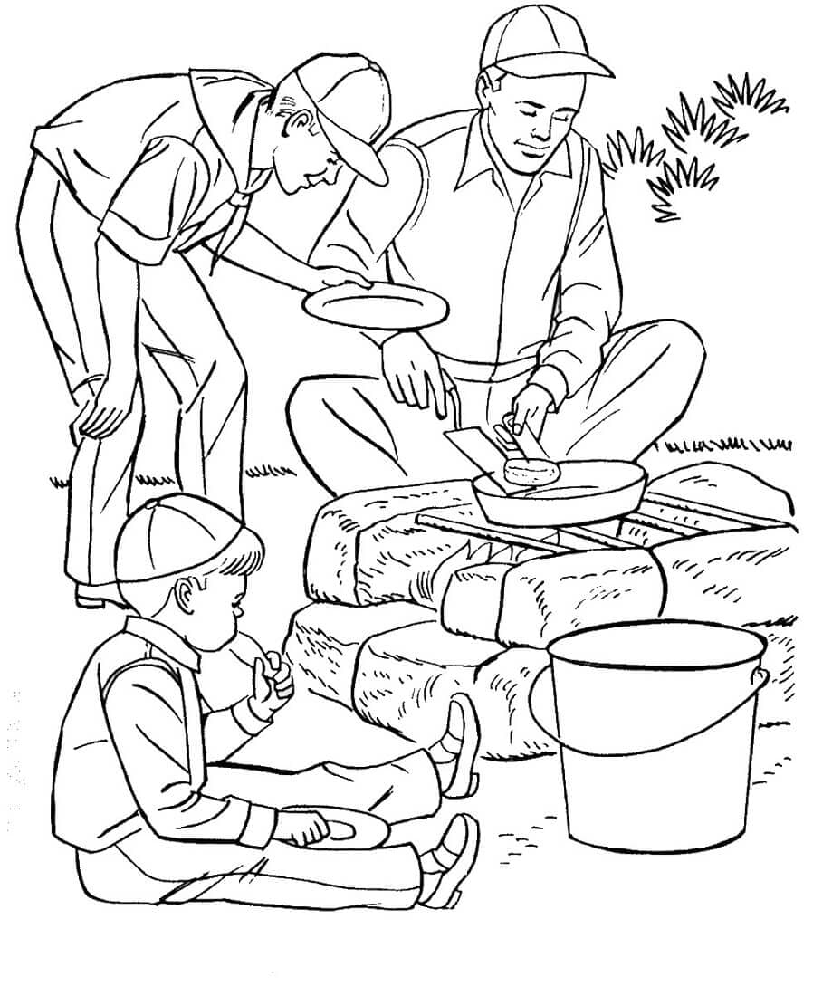 free camping coloring pages free printable camping coloring pages free coloring pages camping