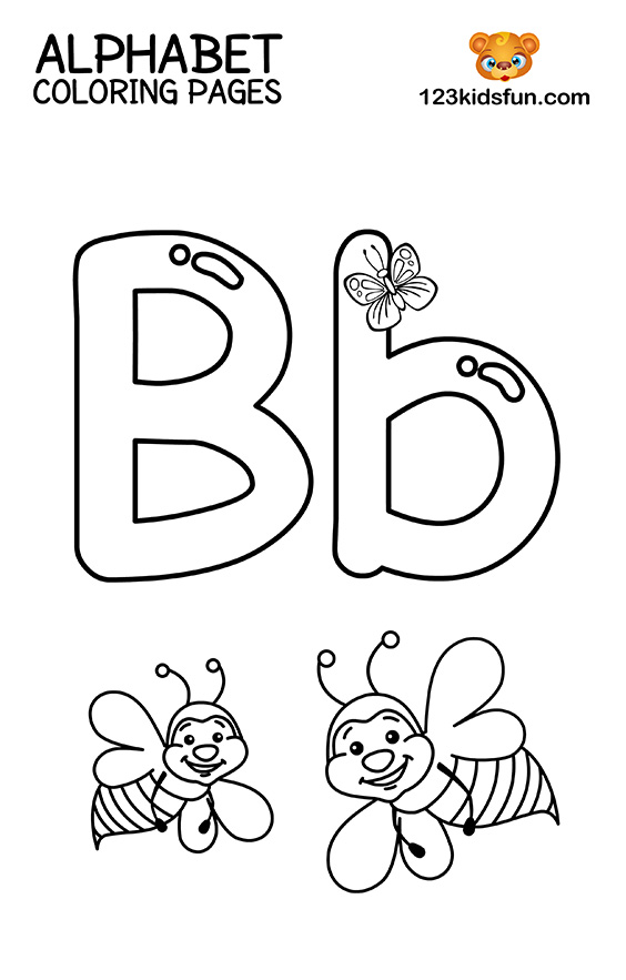 free coloring letters free printable alphabet coloring pages for kids 123 kids coloring letters free