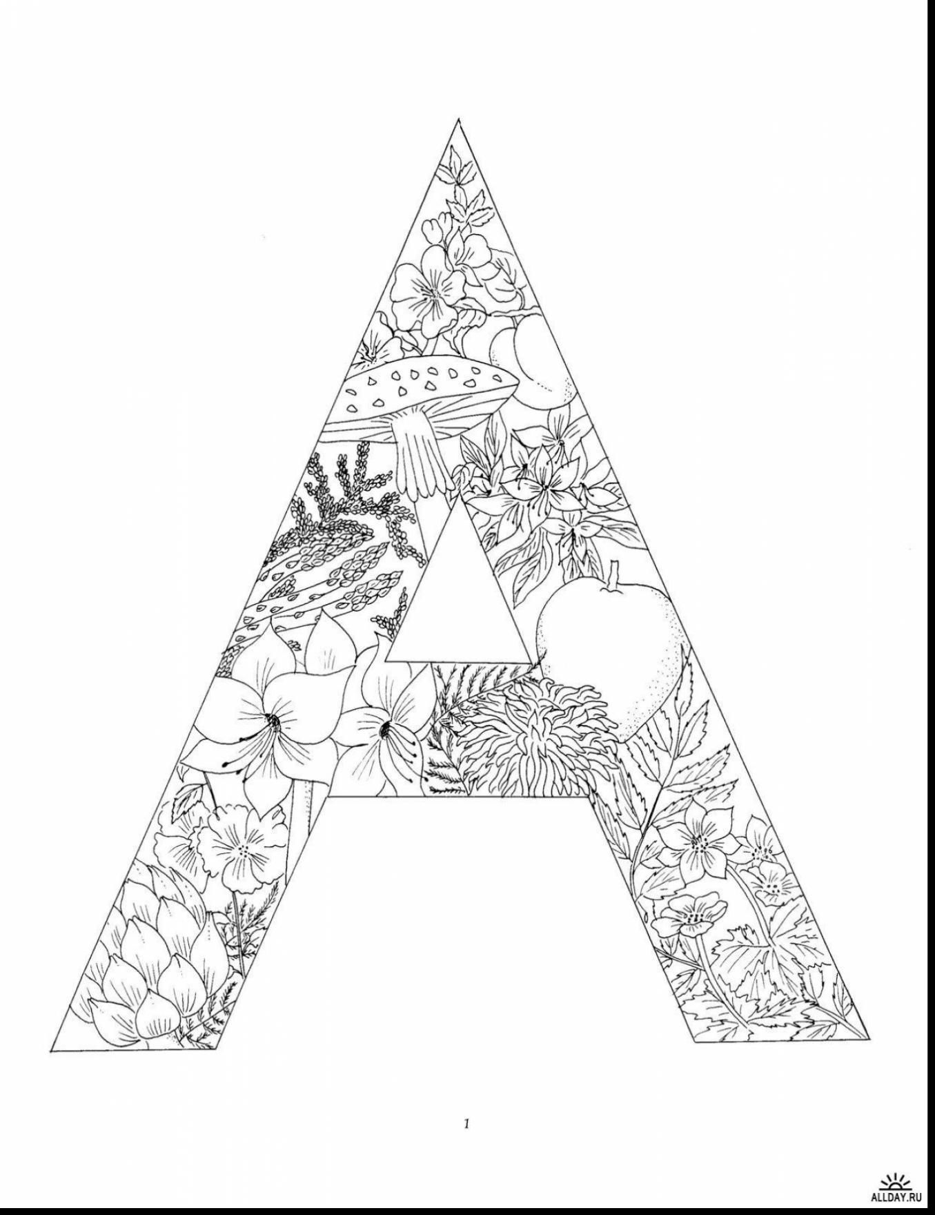 free coloring letters free printable alphabet coloring pages for kids best free letters coloring