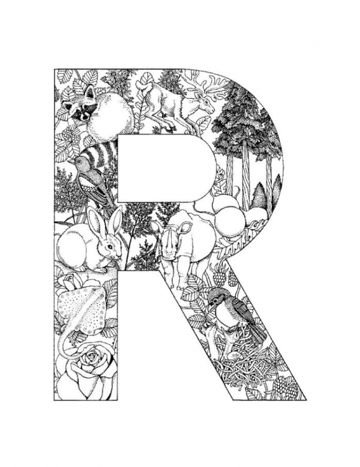 free coloring letters free printable alphabet coloring pages for kids best letters coloring free