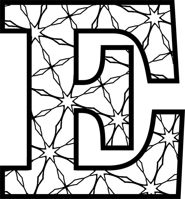free coloring letters here39s a set of printable alphabet letters to download and free letters coloring