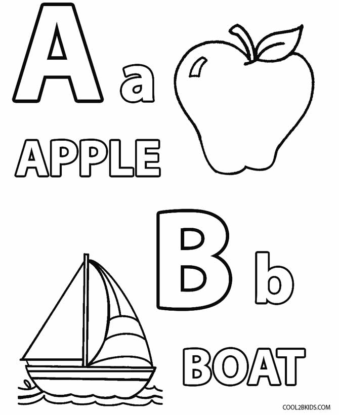 free coloring letters printable toddler coloring pages for kids letters free coloring