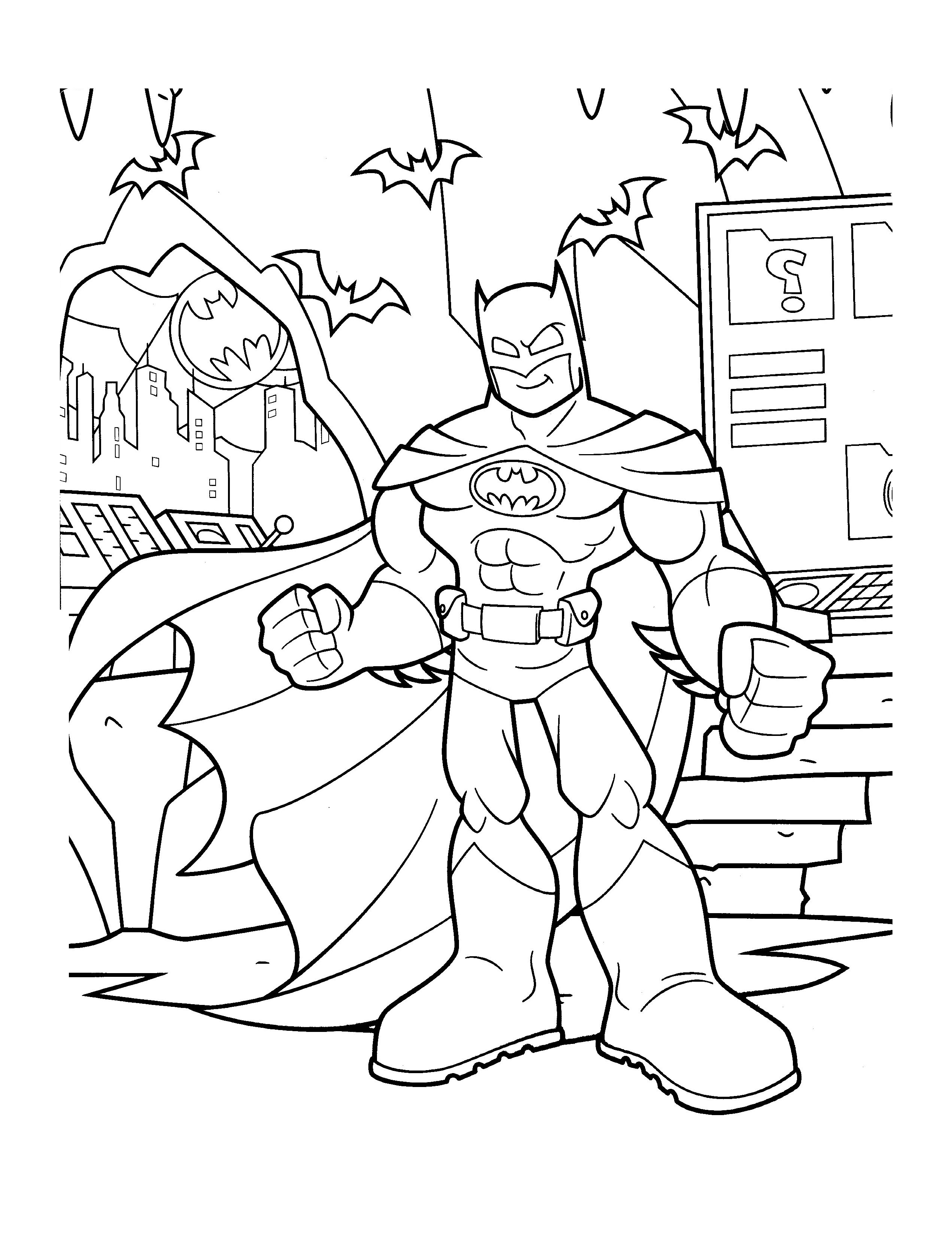 free coloring pages batman free coloring pages batman free batman coloring pages