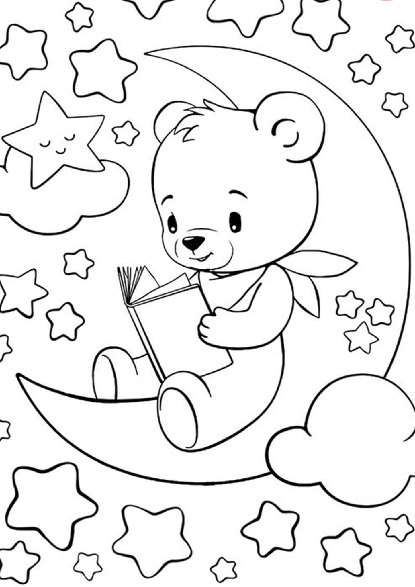 free coloring pages bears bear coloring pages to download and print for free pages coloring free bears