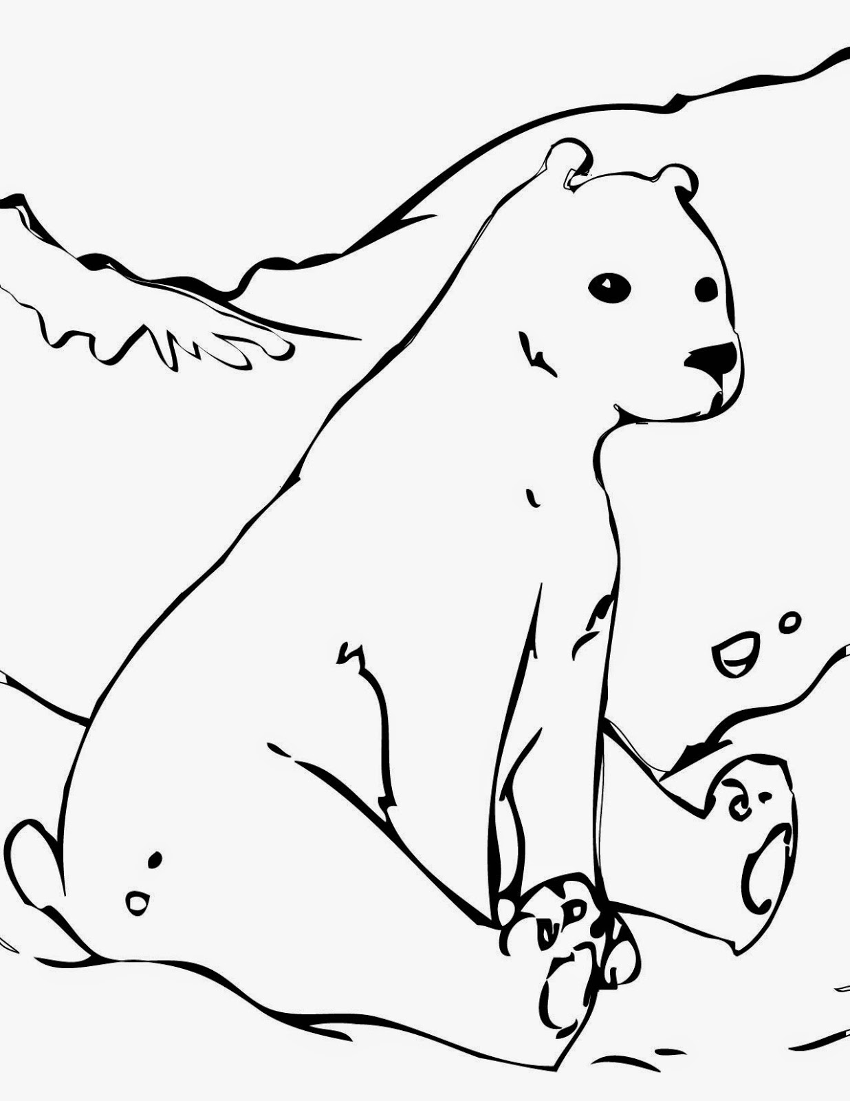 free coloring pages bears free printable bear coloring pages for kids pages free bears coloring