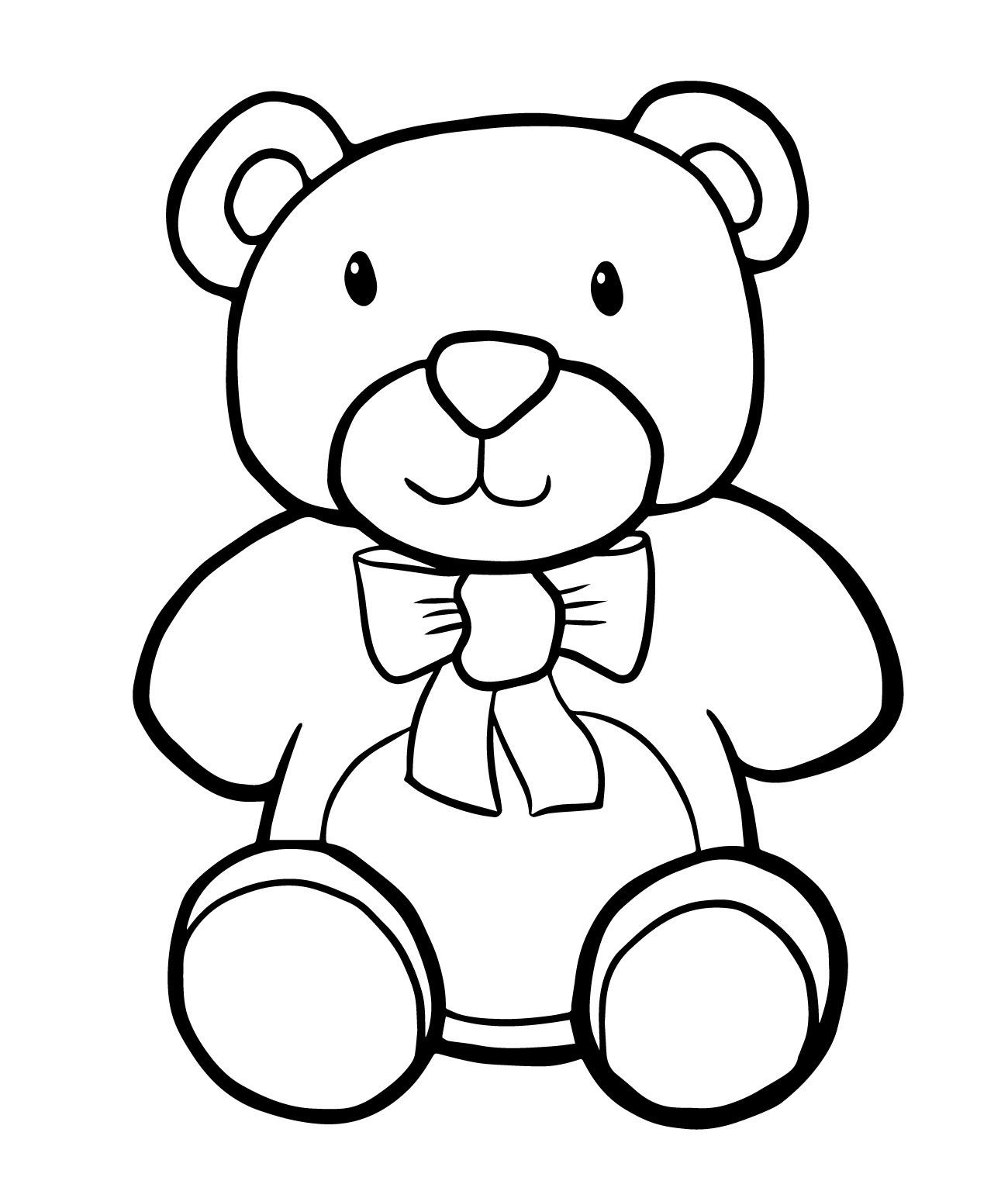 free coloring pages bears free printable teddy bear coloring pages for kids bears free coloring pages