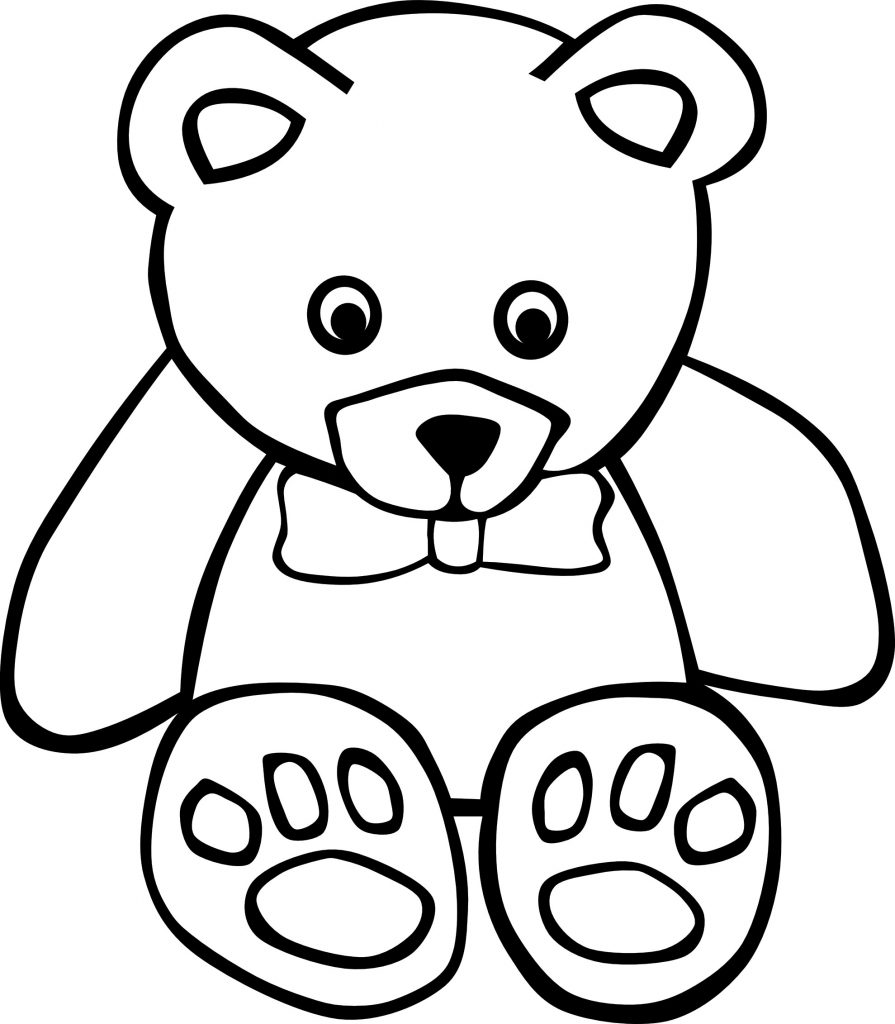 free coloring pages bears teddybear drawing at getdrawings free download coloring pages bears free