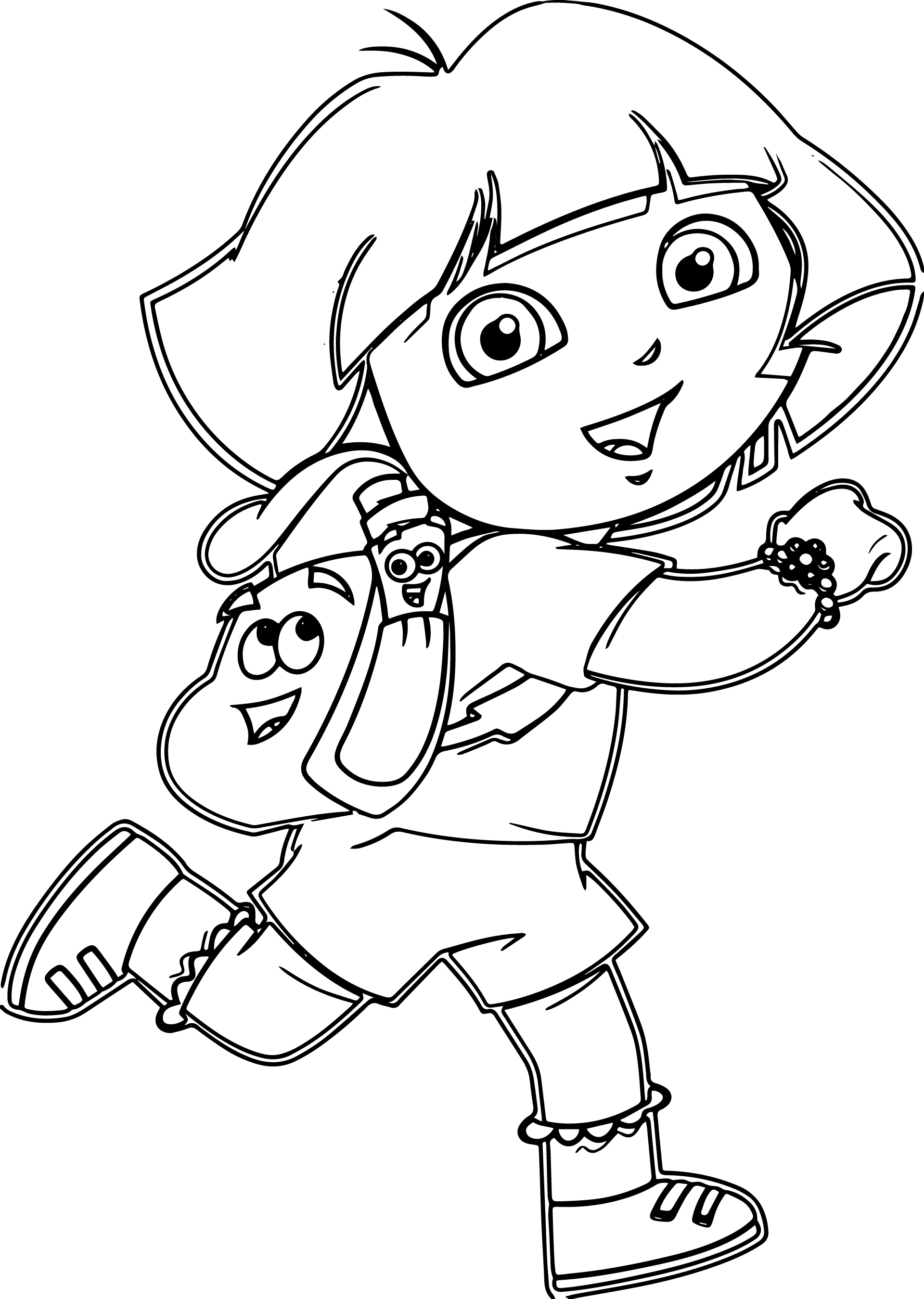 free coloring pages dora best beautiful princess dora the explorer coloring pages free dora pages coloring