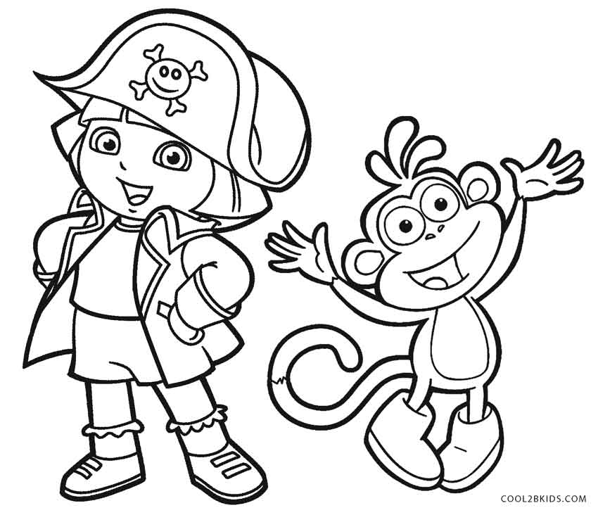 free coloring pages dora free printable dora coloring pages for kids cool2bkids free coloring dora pages