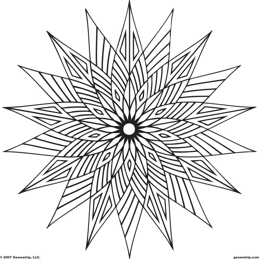 free design coloring pages coloring pages geometric shapes coloring pages free pages coloring design free