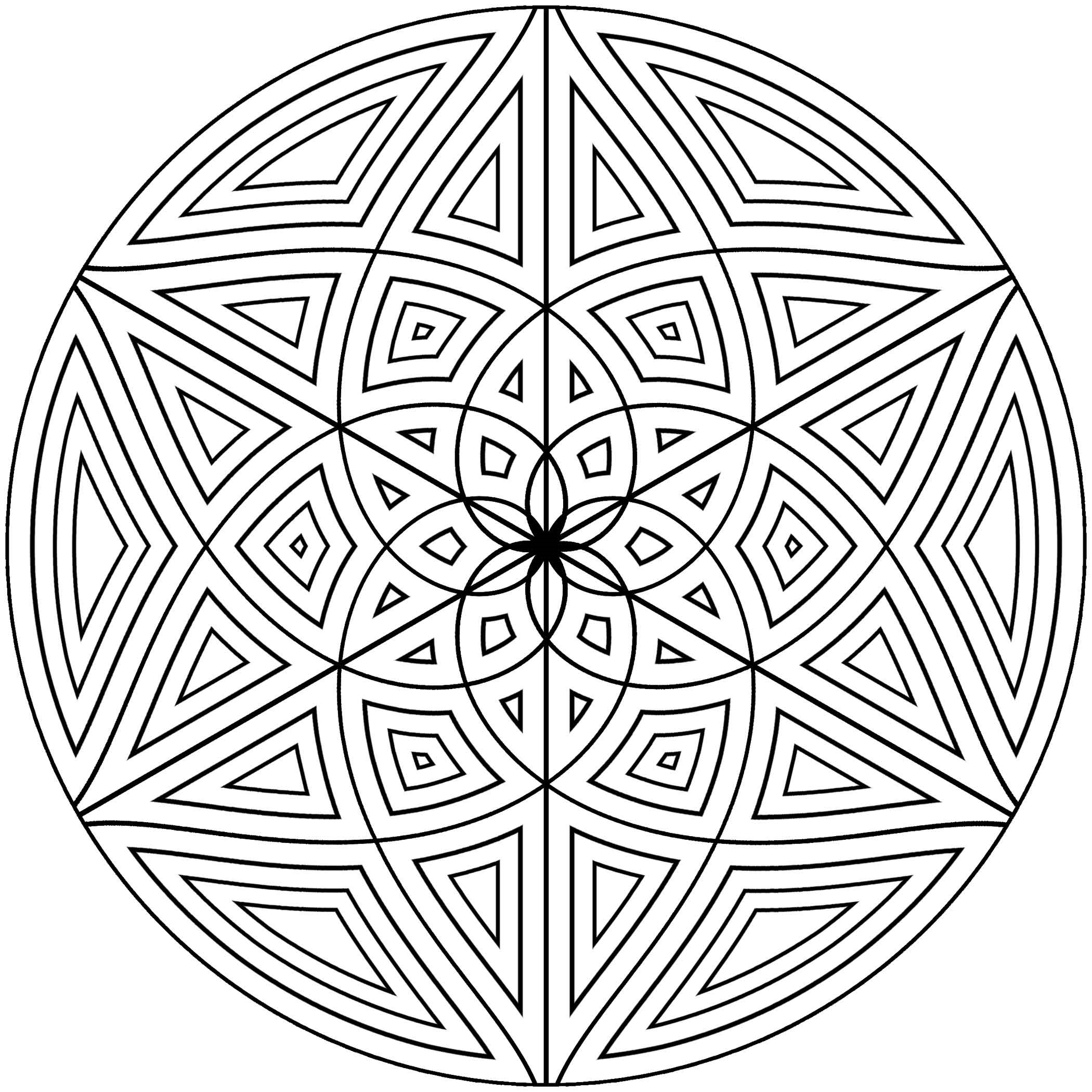 free design coloring pages free printable geometric coloring pages for adults design pages free coloring