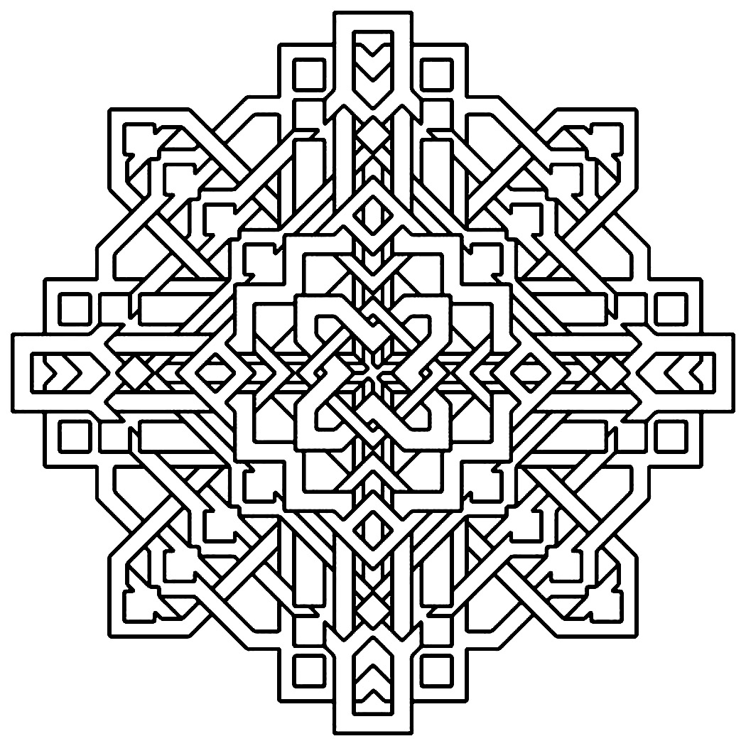 free design coloring pages free printable geometric coloring pages for kids design free coloring pages
