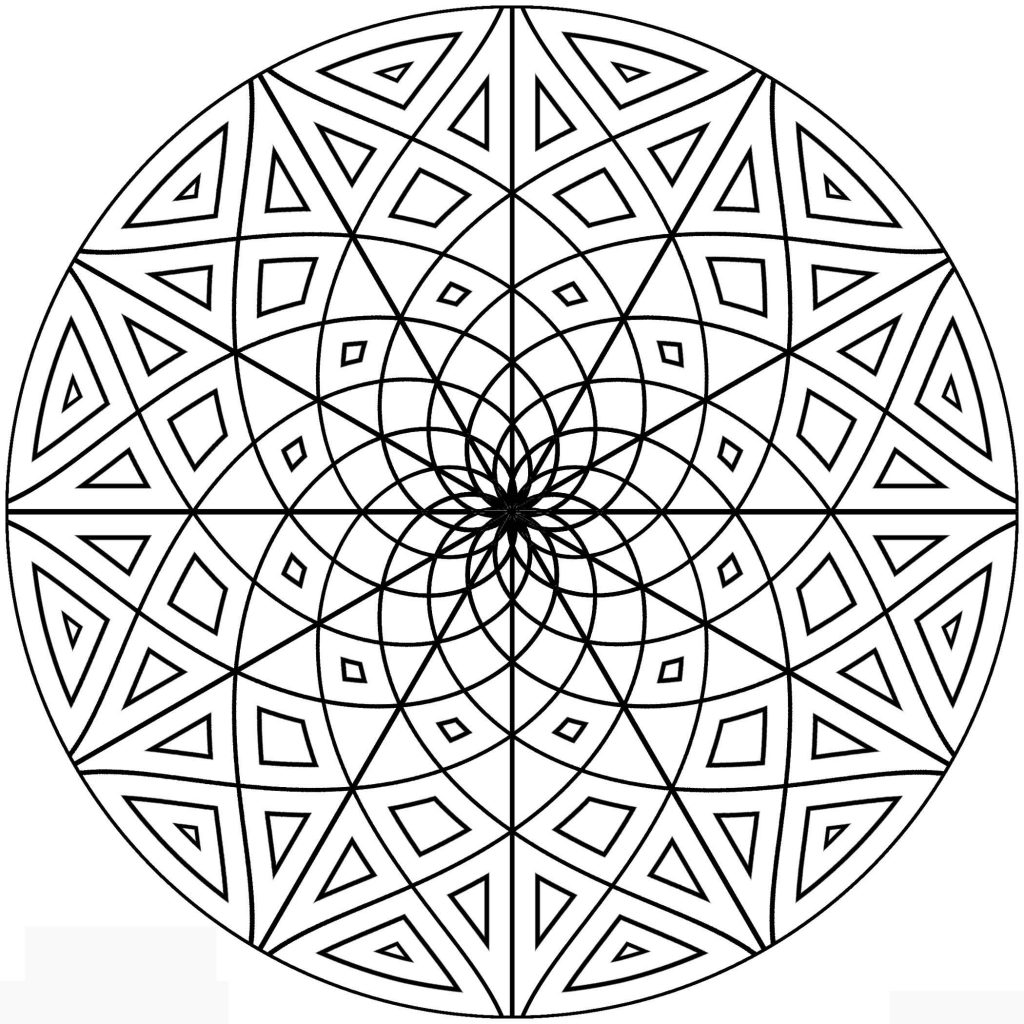 free design coloring pages free printable geometric coloring pages for kids free design pages coloring