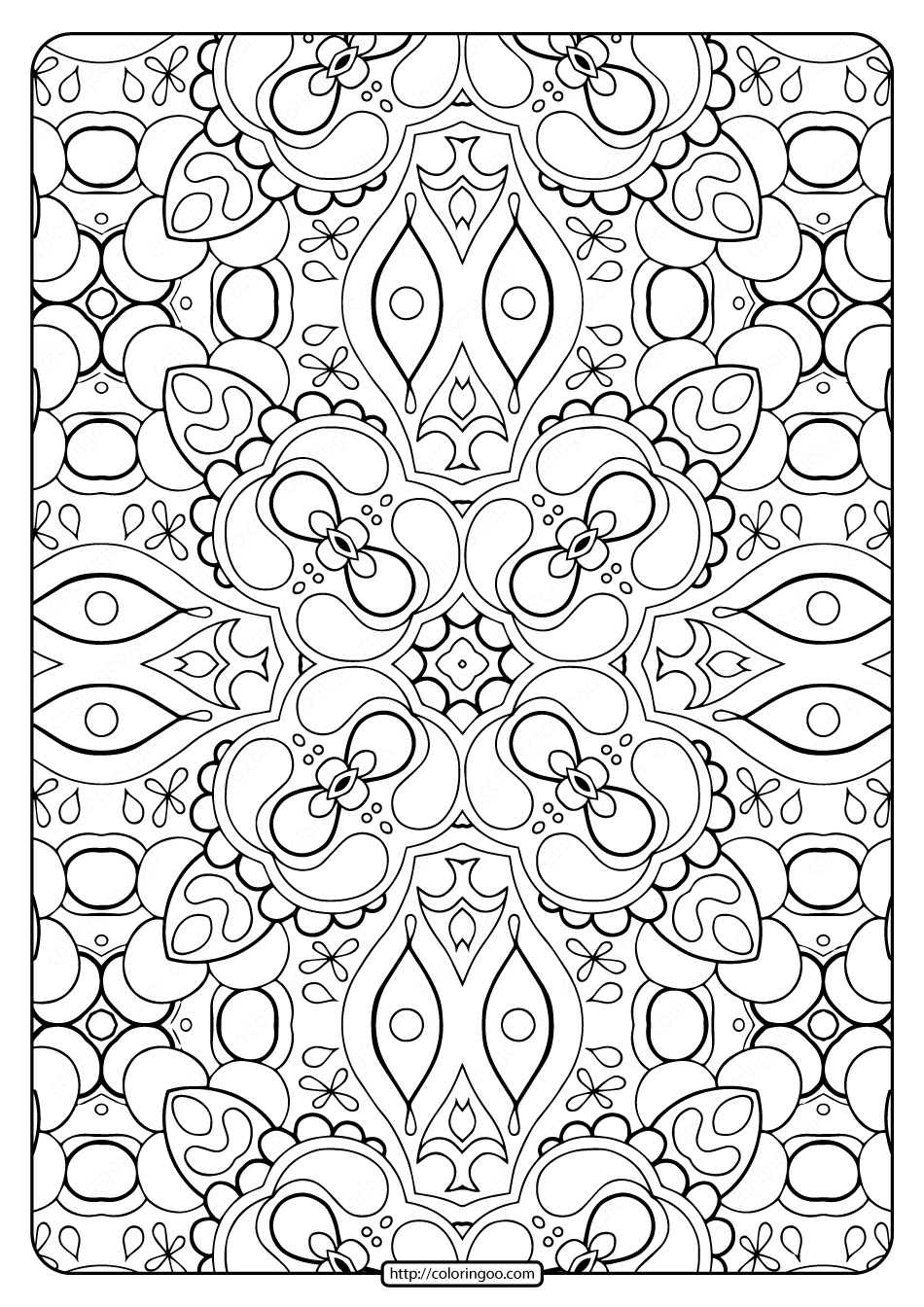 free design coloring pages printable abstract pattern adult coloring pages 01 free design pages coloring