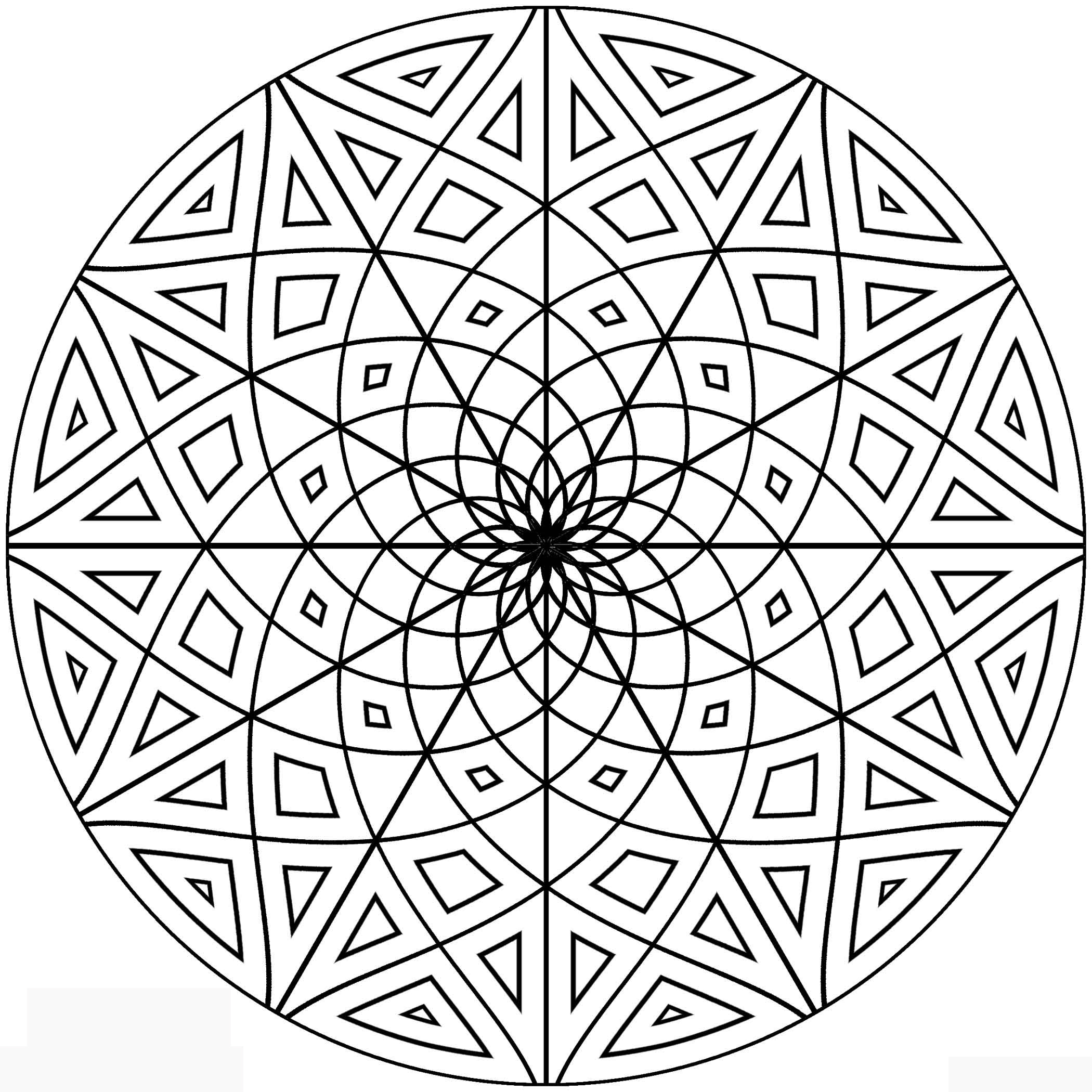 free geometric pattern coloring pages free printable geometric coloring pages for kids free pattern coloring geometric pages