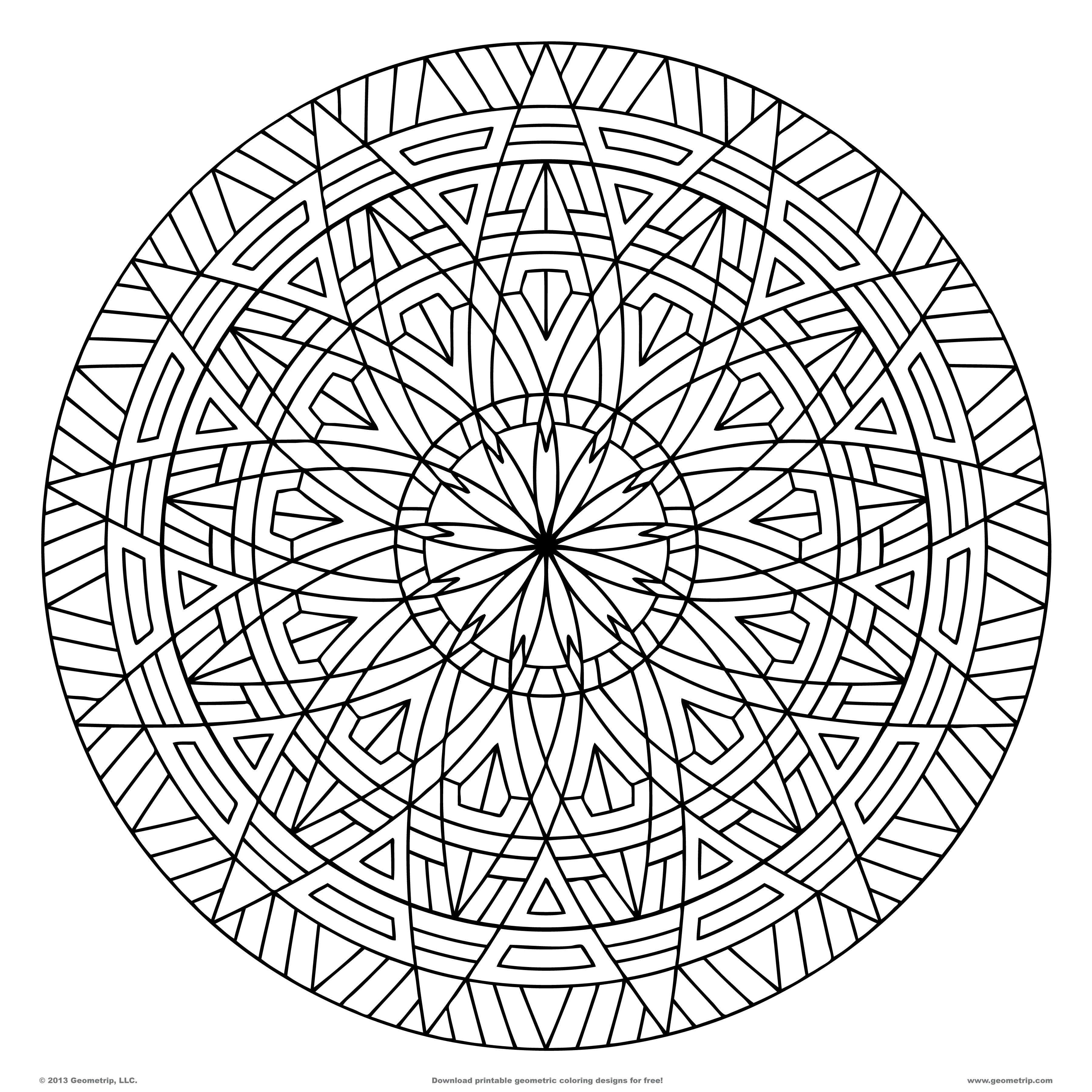 free geometric pattern coloring pages free printable geometric design coloring pages coloring home pages pattern coloring geometric free