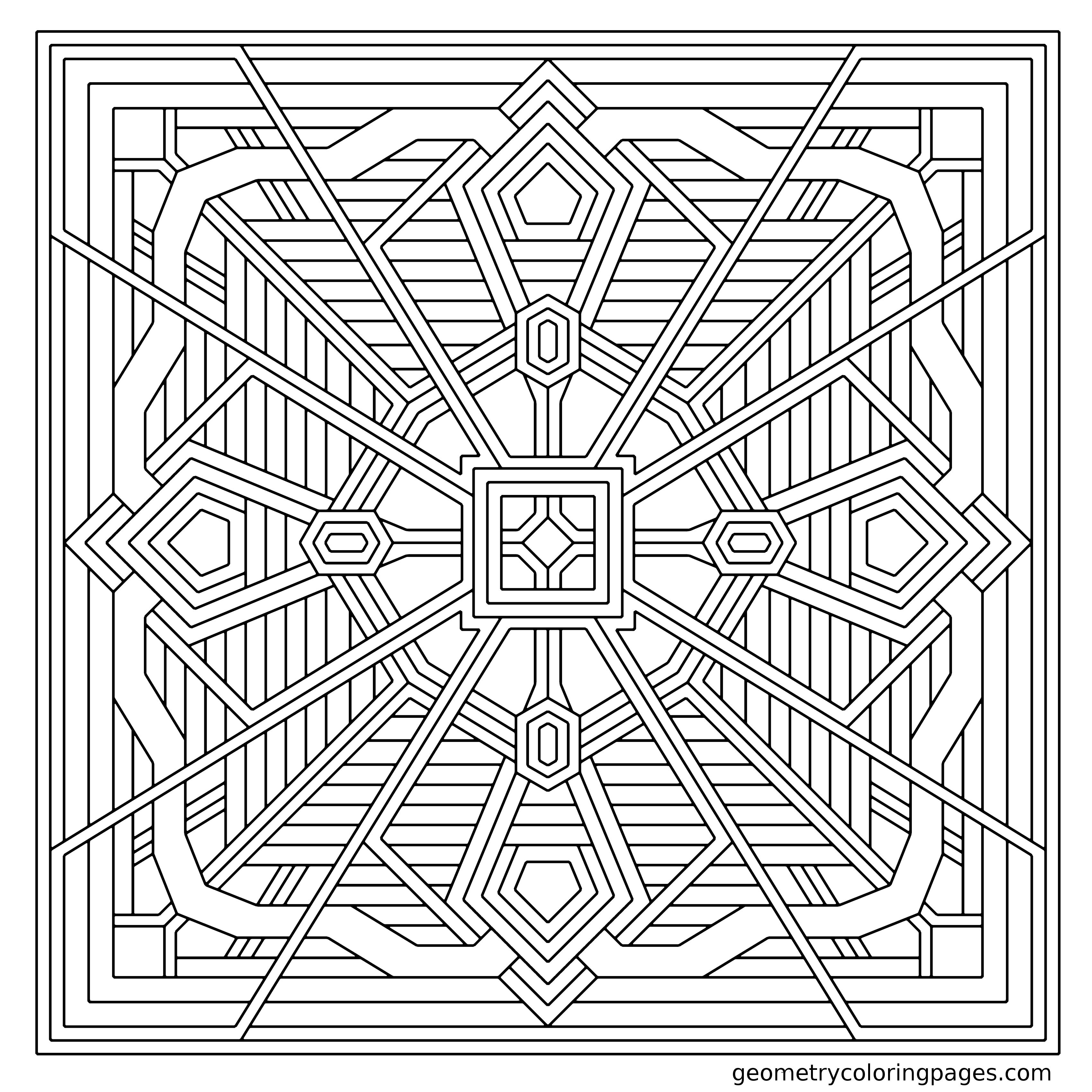 free geometric pattern coloring pages geometric pattern coloring pages for adults coloring home pattern coloring free pages geometric