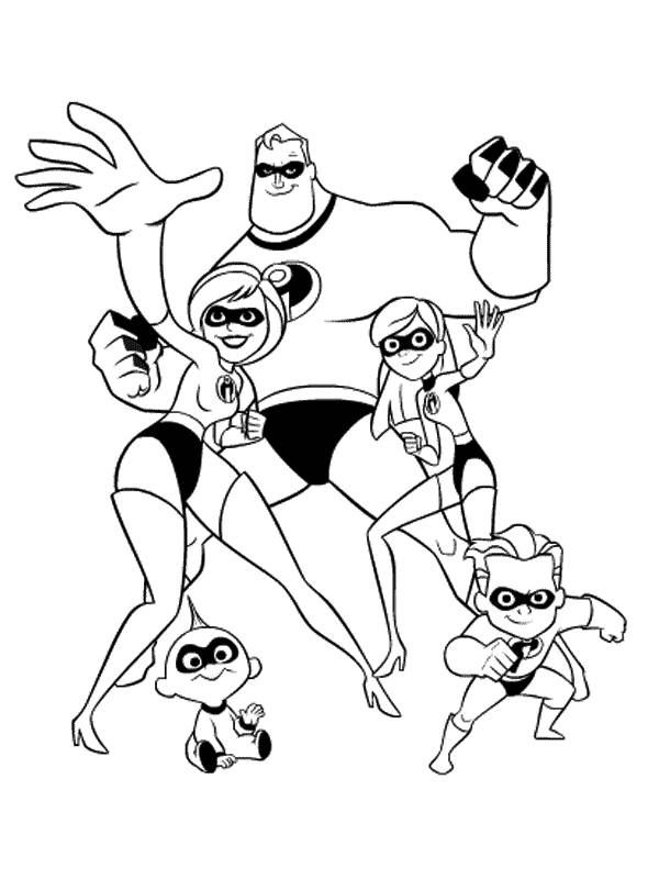 free incredibles 2 coloring pages free printable incredibles 2 coloring pages incredibles free pages coloring 2
