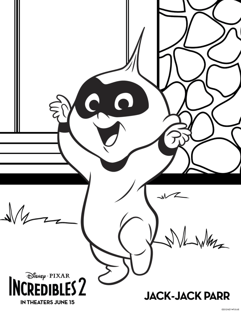 free incredibles 2 coloring pages incredibles 2 coloring pages download and print for free 2 incredibles pages coloring free
