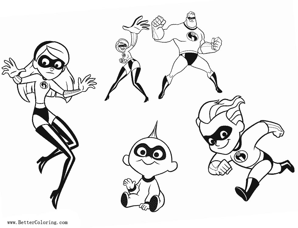 free incredibles 2 coloring pages incredibles 2 coloring pages download and print for free free coloring 2 incredibles pages