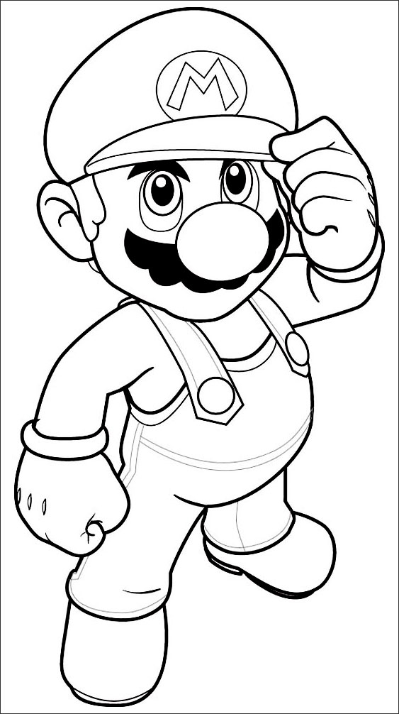 free mario coloring pages free easy to print mario coloring page tulamama free coloring pages mario