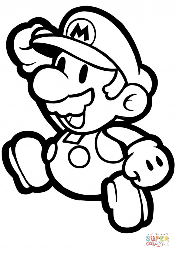 free mario coloring pages free printable super mario bros coloring page coloring pages mario free