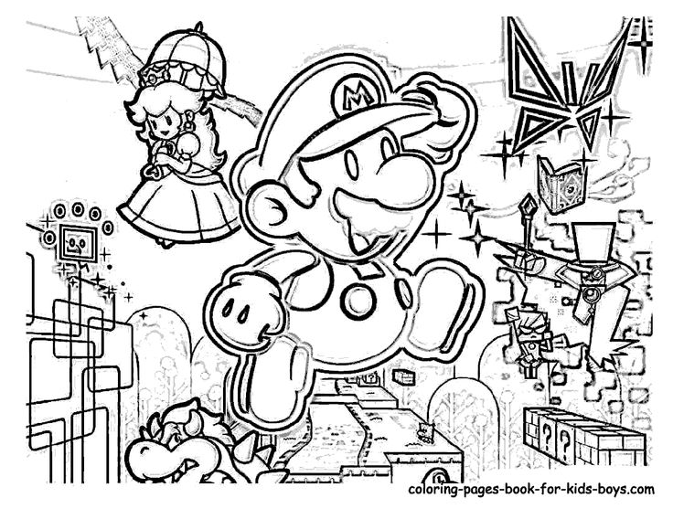 free mario coloring pages mario coloring pages to print free large images free coloring mario pages
