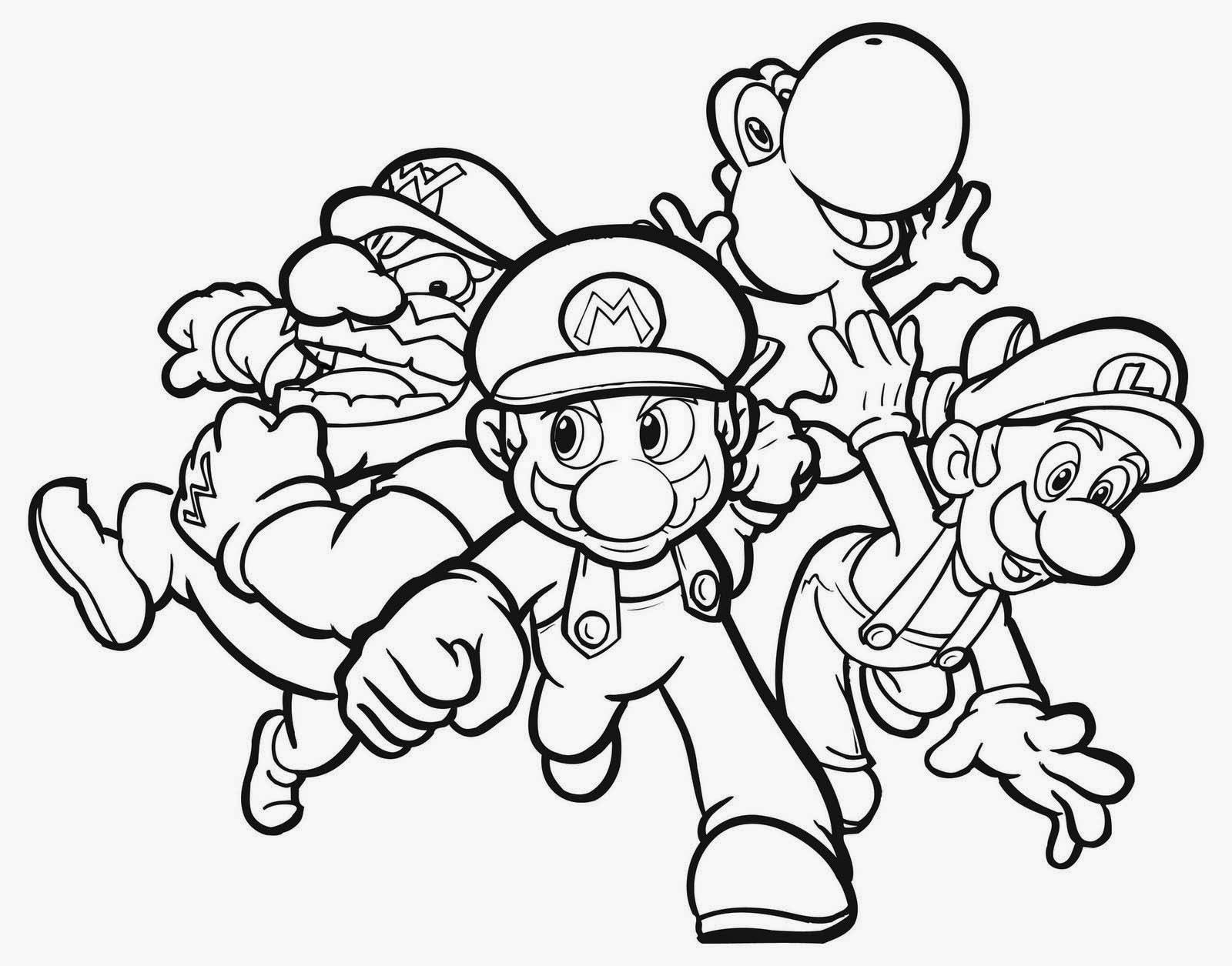 free mario coloring pages official mario coloring pages super mario coloring pages coloring free mario pages