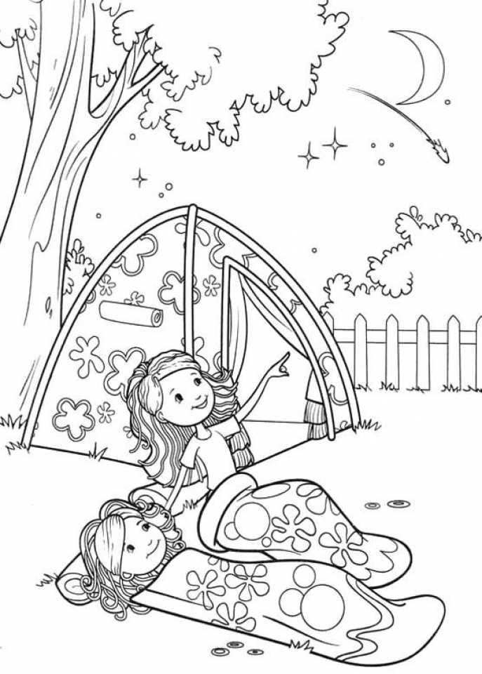 free printable coloring pages for kids camping camp activities camping coloring pages free kids coloring printable for pages camping