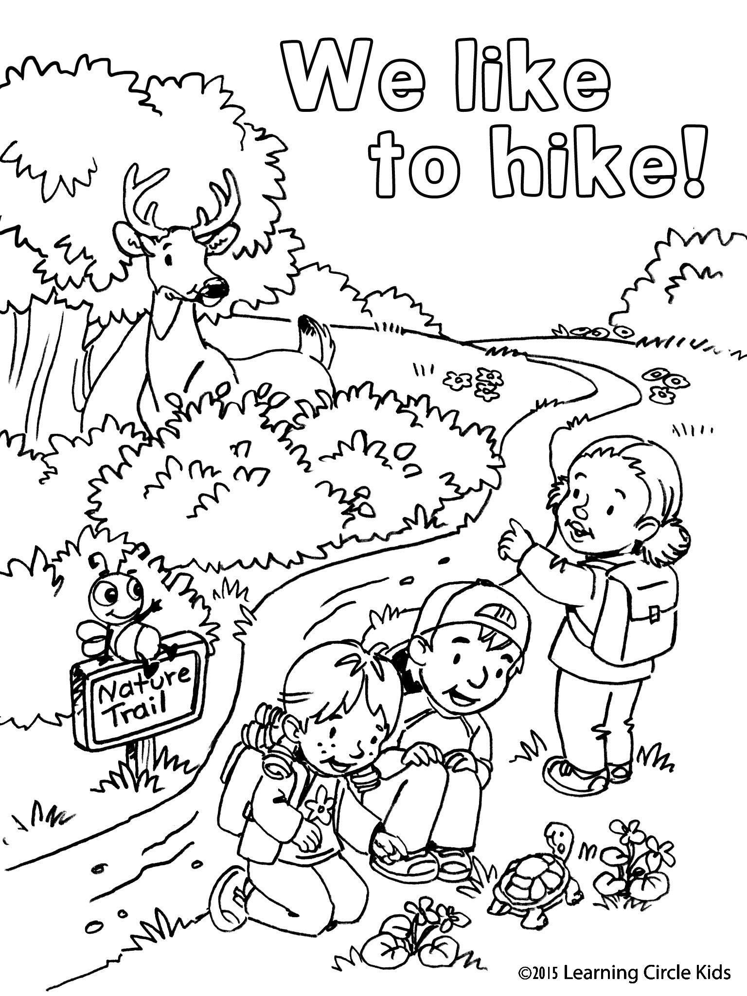 free printable coloring pages for kids camping camping coloring pages kids free coloring printable pages for camping