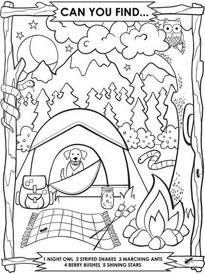 free printable coloring pages for kids camping camping sheet to color for kids 005 camping coloring for free printable pages kids